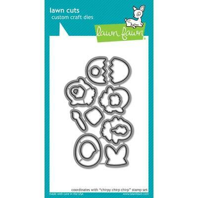 Chirpy Chirp Chirp LF1047 - Lawn Fawn Lawn Cuts Custom Craft Dies - Made in USA