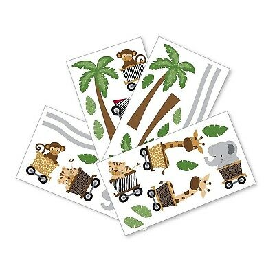 Lambs & Ivy Safari Express Bedding Collection (Wall Decals) Wall Decals New