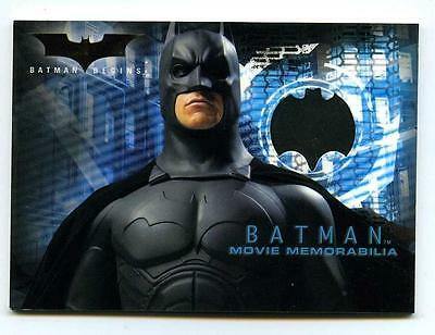 Batman Begins Memorabilia Prop Costume 3 Card Set - Chest Tire Cape