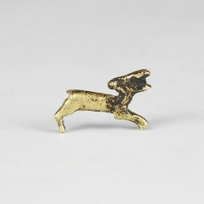 Gold Egyptian Gazelle Amulet