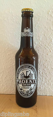 Phoenix Beer Bottle / Phoenix Bier Flasche 330ml - The famous beer of Mauritius