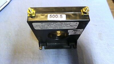 1 – TE connectivity Model 5SFT-501 Current Transformer 500:5.  NEW out of Box