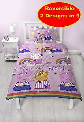 New Official Peppa Pig Hooray Design For Single Beds Girls Bedroom Rotary Design