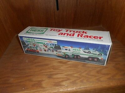 1997 HESS Toy Truck and Racer