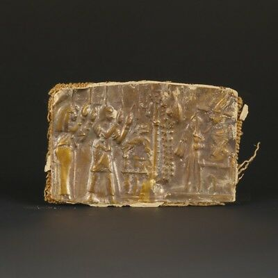Very Rare Egyptian Gold Plaque