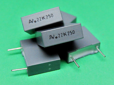 Metallized Polyester Film Capacitor 250V 0.22uF R60IF3220AA60K ARCOTRONICS