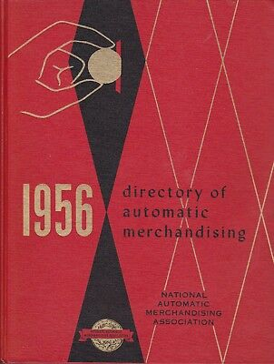 1956 Directory of Automatic Merchandising Hardcover Book
