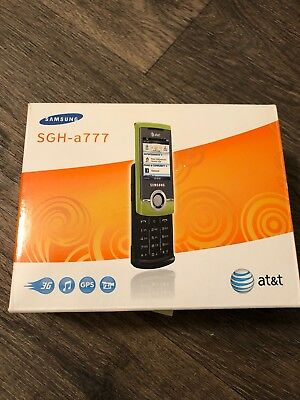 Samsung Propel SGH-A767 - Green (AT&T) Cellular Phone