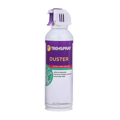 Techspray 1671-10S Non-Flammable Duster 10OZ Aerosol HFC-134A Based