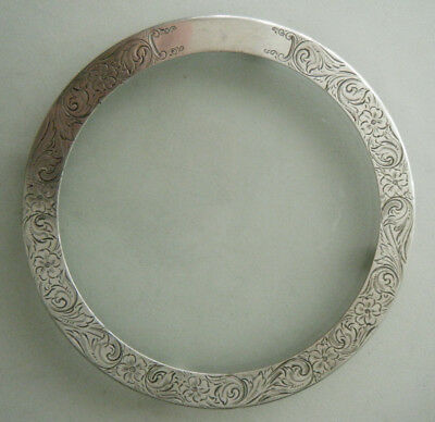 Merrill Company Ball Foot Engraved Sterling Silver and Glass Trivet