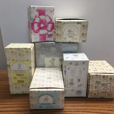 Precious Moments Lot of 7 New In Box     (LOT 114)
