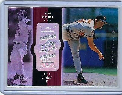 1998 Upper Deck SPx Finite Spectrum #63 MIKE MUSSINA Baltimore Orioles /2250