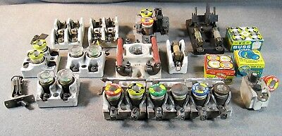 Lot Electrical Antique Porcelain, Knife Switches, Fuse Blocks Steampunk 1901