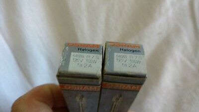 (2) Osram 64689 120 Volt, 100 Watt Linear Lamps NOS PERFECT!