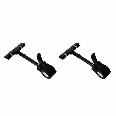 2pcs Pop Sign Card Display Clip Price Tags Holder ,black T8Q3
