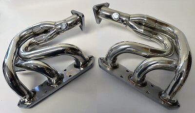 Porsche Boxster 97-04 986 Exhaust Headers Manifolds Stainless Steel w/ Gaskets