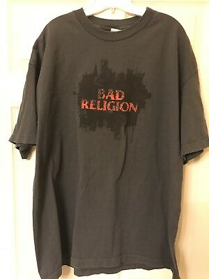* * * BAD RELIGION New Maps of Hell 2007 Tour Shirt SIZE 2XL * * *