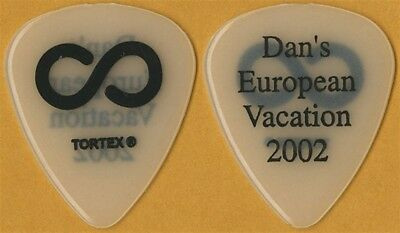 Hoobastank Dan Estrin 2002 tour Dan's European Vacation see thru Guitar Pick
