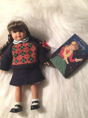"2007 Molly Mini American Girl Doll Original Box Dress Book 6 1/2"" Tall"