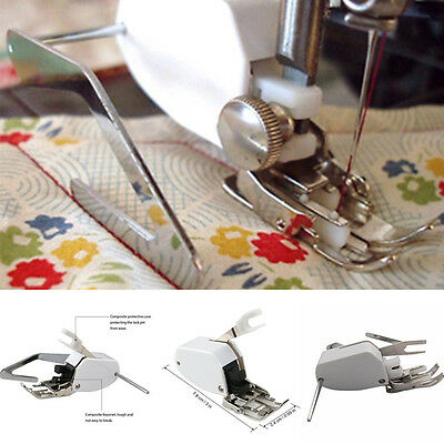 Stainless Steel Even Feed Walking Foot Sewing Machine Presser Foot Quilt Guide