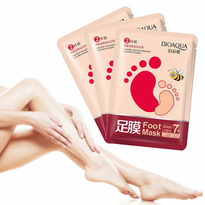 Remove Dead Skin Honey Foot Mask Moisturizing Nourishing Beely Hydrating