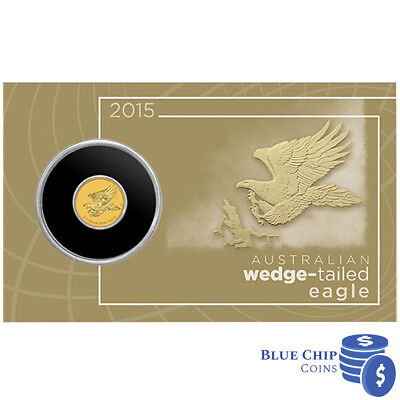 2015 BUNC $2 Australian Wedge Tailed Eagle Gold Coin