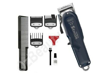 Wahl 5 Star Senior Cord/Cordless Professional Hair Clipper 8504-012 +Attachments