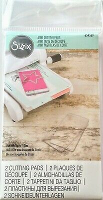 Sizzix Mini Cutting Pads Clear - Suit Big Shot BIGkick Sidekick Vagabond - 2 pcs