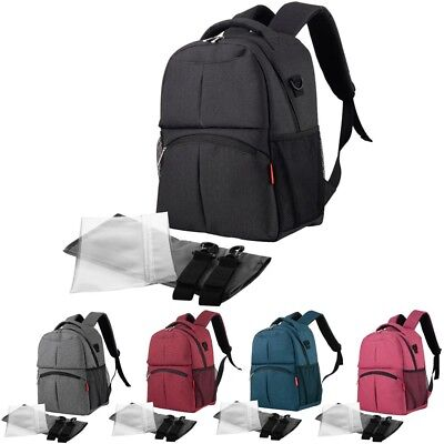 Baby Diaper Large Backpack Multifunctional Mommy Bag Nappy Changing Bag Mummy