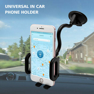 Universel 360° Support GPS Téléphone Portable Mount Voiture Phone Holder 6 Style
