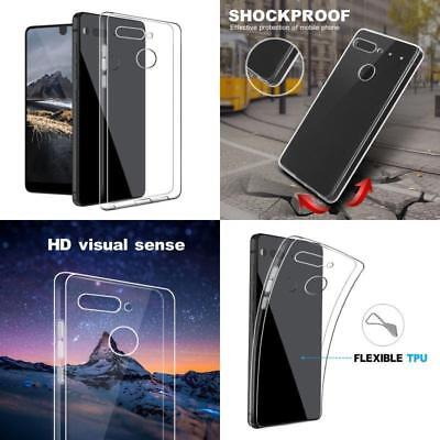 For Essential Phone PH-1 UltraThin Slim Clear Soft Silicone TPU Case Cover