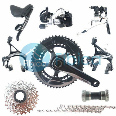 New SRAM Rival 22 11-speed Road Full Complete Groupset Group set 50/34t 172.5mm