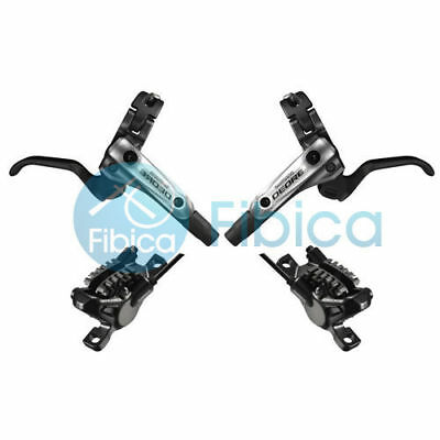 New Shimano Deore BR-M615 M610 Hydraulic Disc Brake Set Cooling Ice Tech