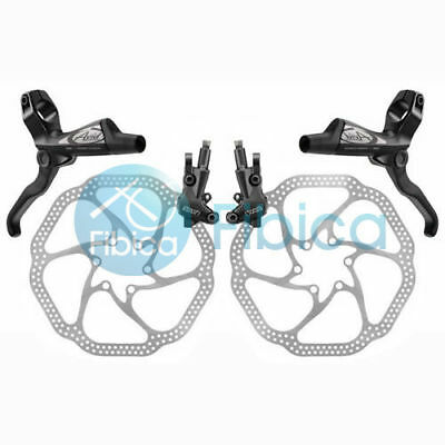 New Avid Elixir 1 Hydraulic Disc Brake set+HS1 rotors 160mm Black