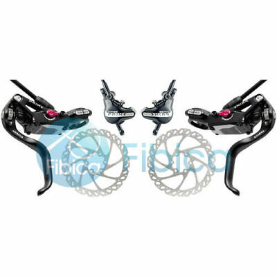 New HAYES PRIME Expert Hydraulic Brake set Front Rear white with V7 rotors