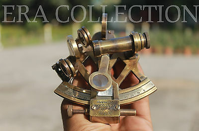 Nautical Antique Sextant Instrument Astrolabe Ships Maritime Decor Gift 4 Inches