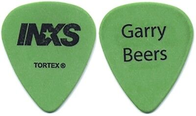 INXS Gary Beers authentic band issued 2005 concert tour custom stage Guitar Pick