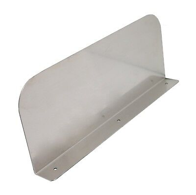 """Stainless Steel Splash Guard - 15"""" x 6"""" Wall Mount - For Commercial Resta... New"""