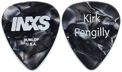 INXS Kirk Pengilly authentic 2005 tour concert issued custom stage Guitar Pick