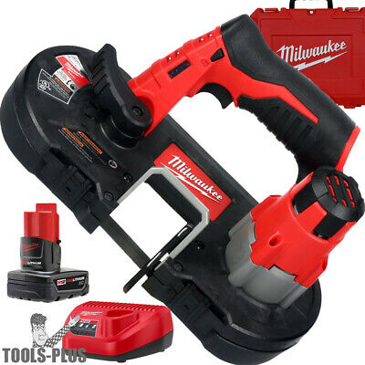 Milwaukee 2429-21XC 12 Volt M12 Cordless Sub-Compact Band Saw Kit New