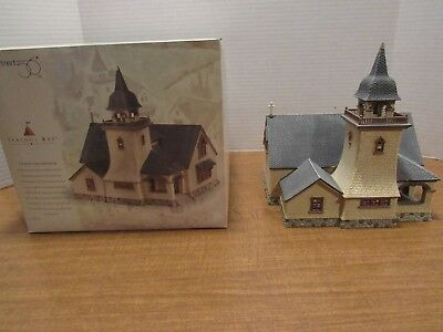 Dept 56 Seasons Bay 1998 Chapel On The Hill #53402 Beautiful Church For Village