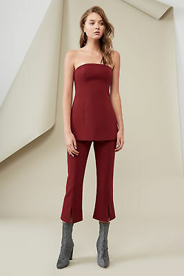 NEW Women's Bustiers Lucie Bustier Deep Berry By Finders Keepers