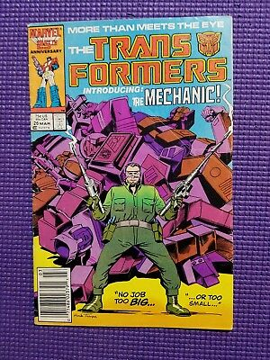 Marvel Comics 25th Anniversary The Transformers Issue #26 1987