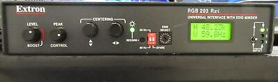 Extron RGB 203 Rxi Three Input Universal Computer-Video/Audio Interface w/EDID