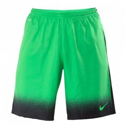 Nike Laser Woven Printed Shorts Xl Green Football/running/fitness/goalkeeper