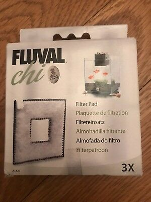 Genuine Fluval Chi Replacement Filter Foam Pad 2Pk