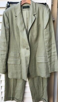 Embassy Row  size  16  PURE LINEN  beautiful PANT SUIT