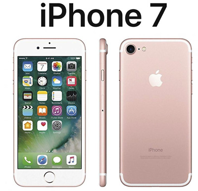 LlKE NEW  Apple iPhone7 | Factory Unlocked | T-Mobile | AT&T | 32GB 128GB 256GB