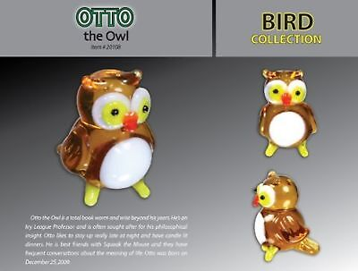 Looking Glass Otto the Owl New