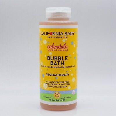 New California Baby Calendula Bubble Bath  13 oz Free Shipping